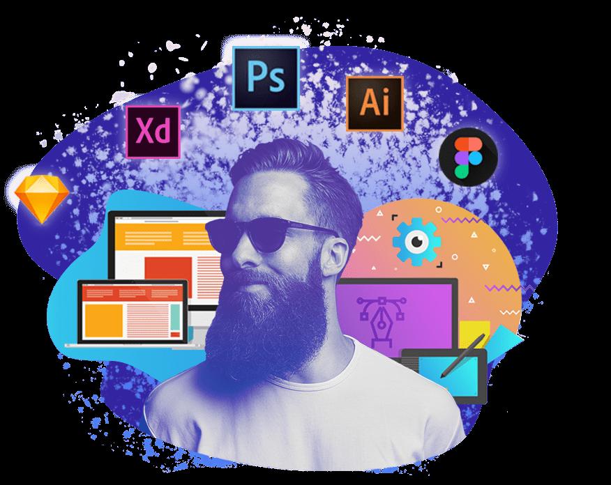 Веб-дизайн UI/UX  обучение от школы Avenue
