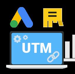 Курс включает в себя: UTM-метки